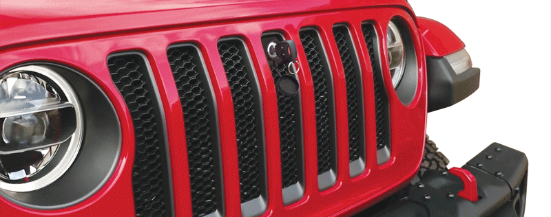 BOLT Jeep Wrangler Bonnet Lock