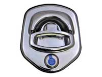 Compression Lock (Chrome) - Chyrsler & Dodge Key