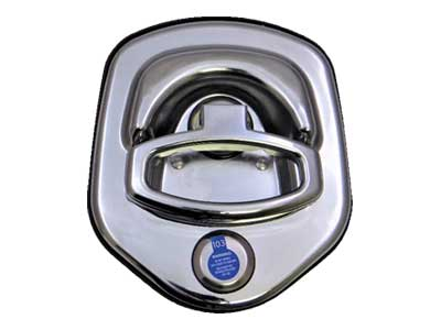Compression D Ring Tool Box Lock
