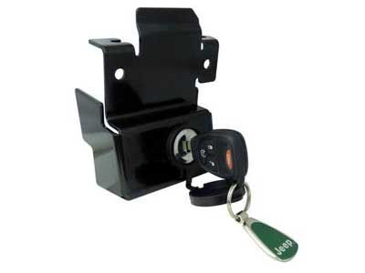 Jeep Wrangler Bonnet Lock