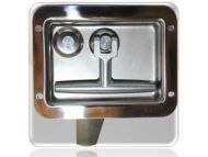T Handle Lock (Top Latch) - Fiat & Iveco Key