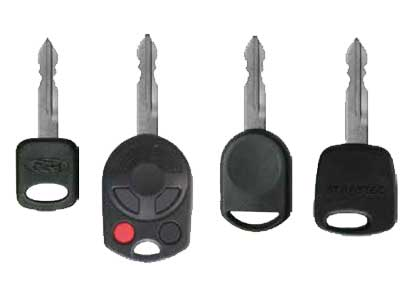 Ford, Lincoln, Mazda and Mercury Key
