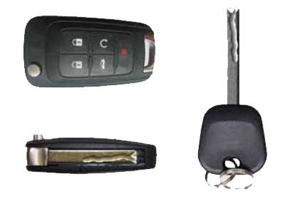 GMC, Chevrolet and Cadillac Centre Cut Key (GM-C)