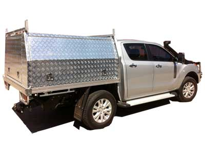 4WD and Ute Aluminium Canopy