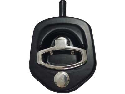 Compression D Ring Handle Lock Black